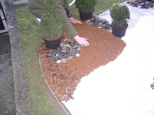 R aliser un sol d coratif page 4 for Boules decoratives jardin