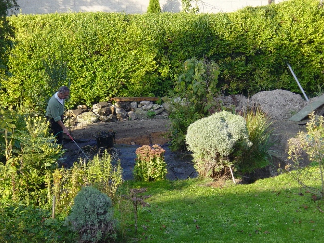 Agrandir bassin de jardin page 2 for Bache a bassin