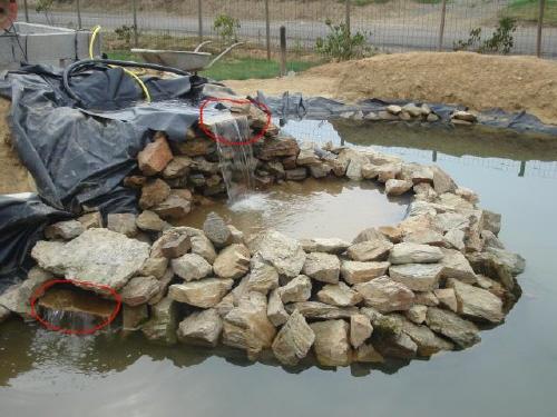 Bassin de jardin aquatique de yann page 4 - Fabriquer une cascade pour bassin ...