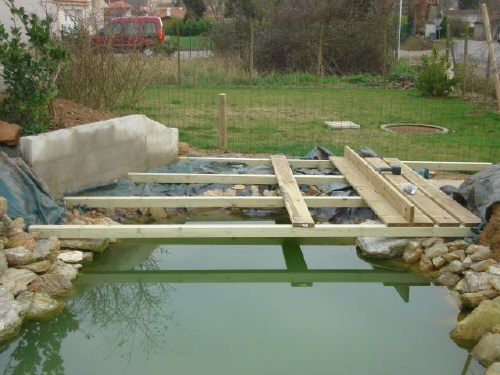 Bassin de jardin aquatique de yann page 4 - Fabriquer bassin en bois nanterre ...