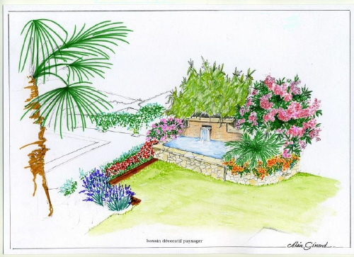Les dessins de bassin de jardin d 39 alain page 3 for Dessin de table de jardin