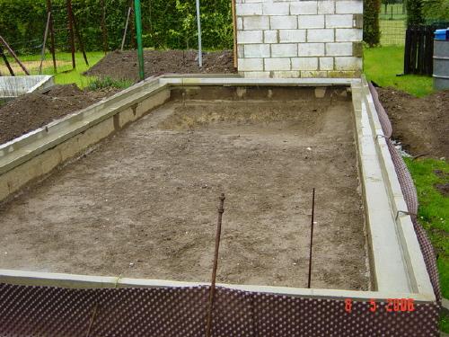 le bassin de jardin de Croquet de belgique