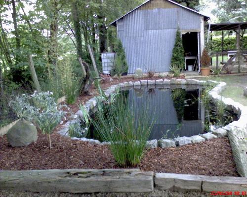 Le bassin de jardin de pascal - Bassin jardin preforme saint paul ...
