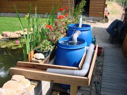 Le bassin de jardin de patrick sauvage page 4 for Filtre bassin maison