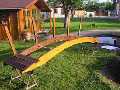 Le bassin de jardin de patrick sauvage - Fabriquer un bassin de jardin ...