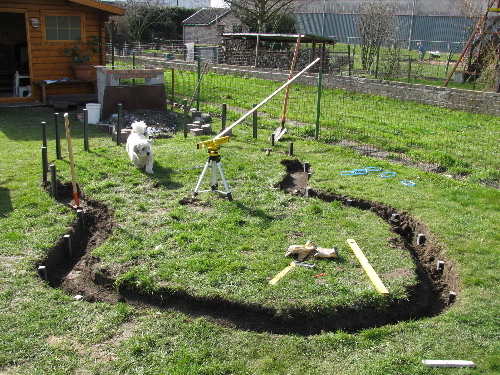 Le bassin de jardin de Tommy