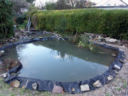 Agrandir bassin de jardin page 4 for Bache plastique bassin